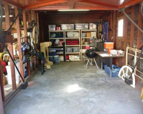 Jane's garage after