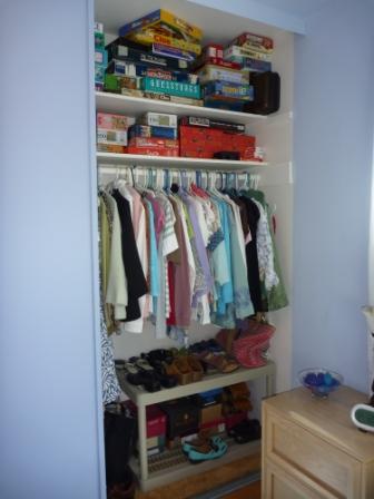 June's closet