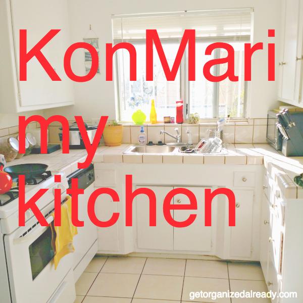 Konmari Kitchen Organization: KonMari My Kitchen