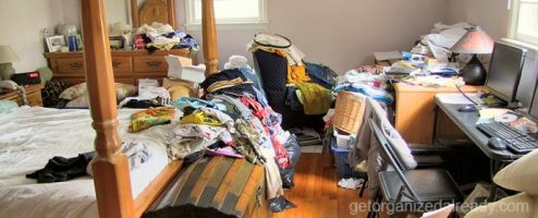 Clutter and anxiety
