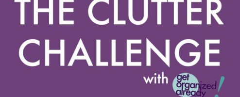 The Clutter Challenge video series is free and easy