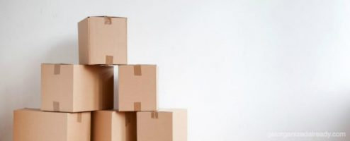 Drop the extra weight to get ready for a move
